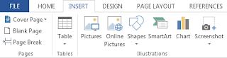 Cara Menggunakan Screenshot Di Microsoft Office Word 2013