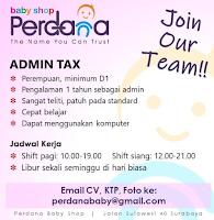 Tantangan Kerja di Perdana Baby Shop Surabaya Maret 2020