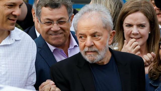 Lula da Silva sale libre de la cárcel tras 19 meses