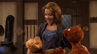 Baby Bear, Curly Bear, Gabi, Sesame Street Episode 4416 Baby Bear's New Sitter season 44