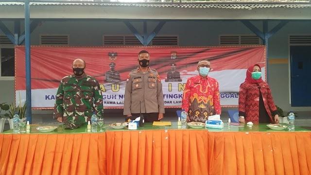 Plh Danramil 410-05/TKP Hadiri Peresmian Kampung Tangguh Nusantara Kecamatan Enggal