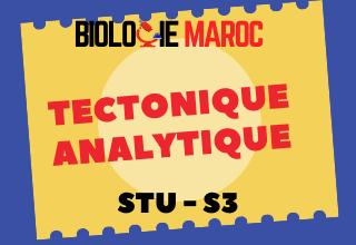 COURS DE TECTONIQUE ANALYTIQUE STU S3 PDF