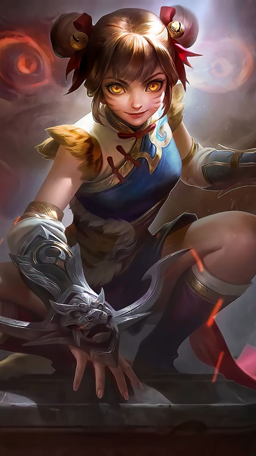 Wallpaper Wanwan Agile Tiger Skin Mobile Legends HD for Android and iOS