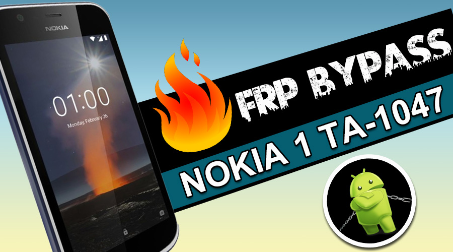 Nokia 1 TA-1047 Frp bypass Without Pc 2019 | Nokia 1 Android