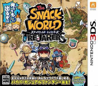 The Snack World TreJarers Decrypted 3DS JAP