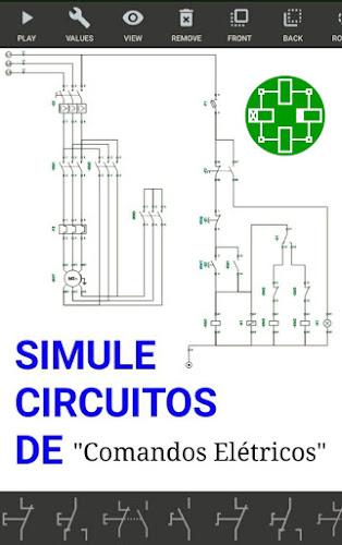 Simurelay - Simulador de comandos elétricos