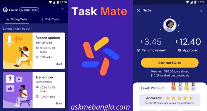 Task Mate apps Bangla Refer Code