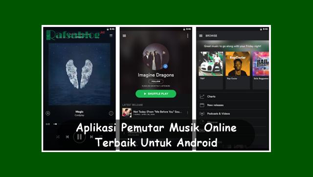 Aplikasi Pemutar Musik Online Terbaik Untuk Android