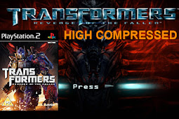 Transformers Revenge of The Fallen High Compressed PS2/PCSX2/Damon [658 MB]