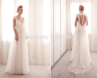 Ideias de vestido de noiva larguinho