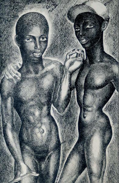 Dibujo sin titulo, 1960