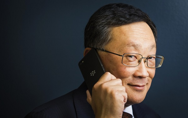 الرئيس التنفيذي لشركة BlackBerry السيد John Chen