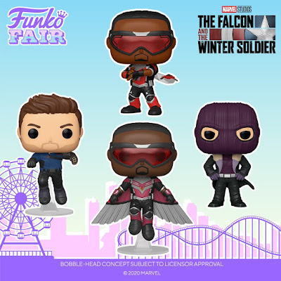 The Falcon and the Winter Soldier Pop! Vinyl Figures by Funko