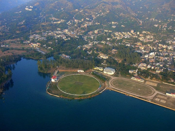 cricket stadium bilaspur district