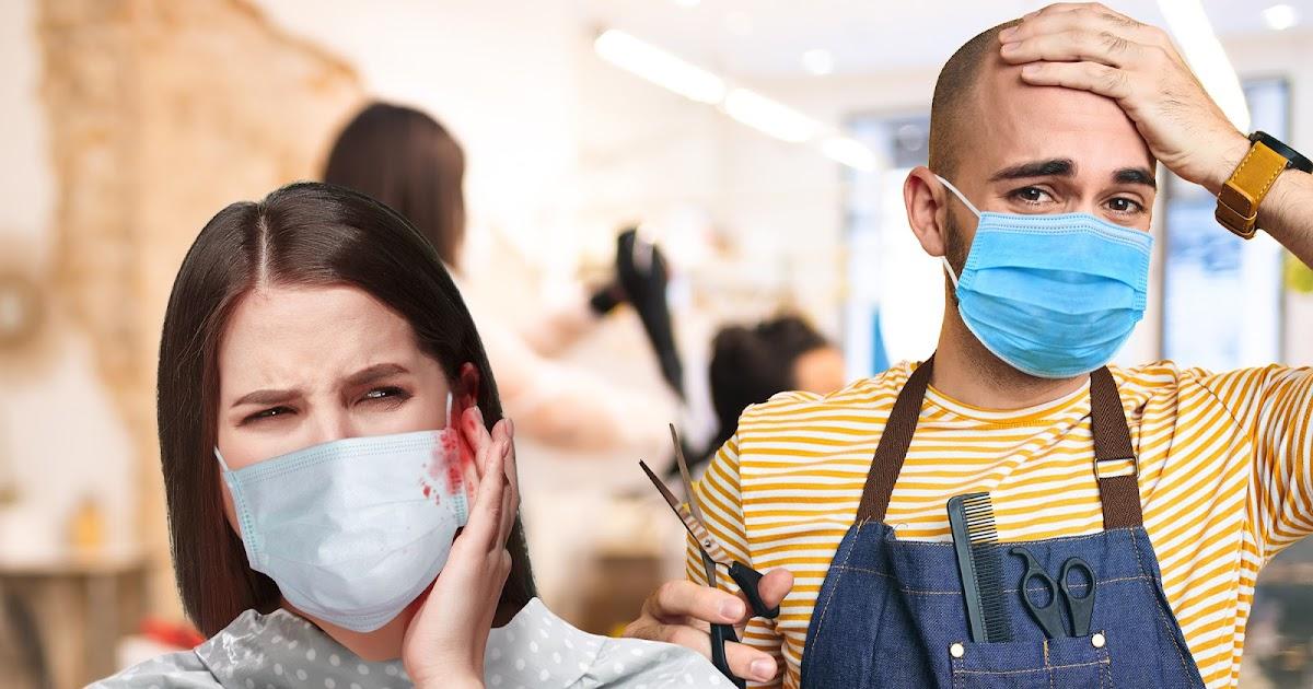 Bundesweit 27.000 Ohren abgeschnitten, weil Friseure 4 Monate lang nicht üben konnten