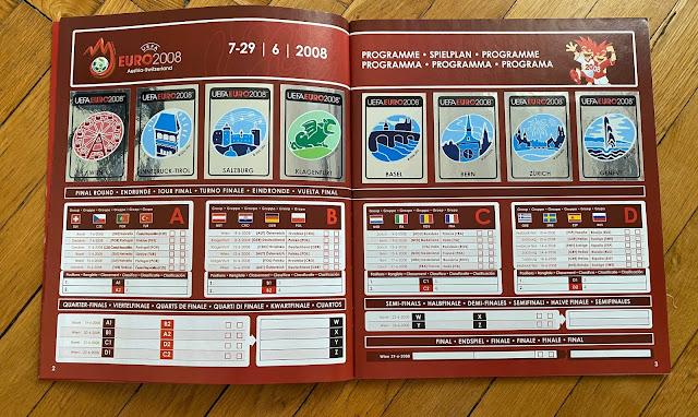 Programma Panini Austria e Svizzera 2008