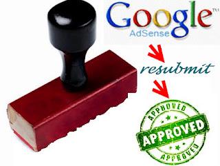 Daftar Adsense Dengan Blog yang Pernah Ditolak