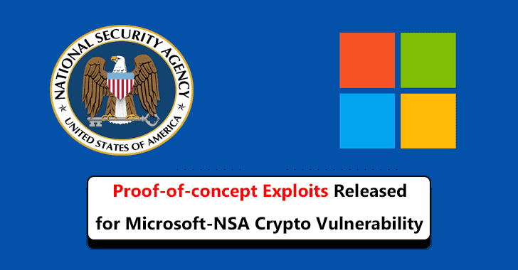 Proof-of-concept Exploits Released for CVE-2020-0601, the Microsoft-NSA Crypto vulnerability