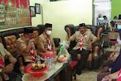 Pengurus Kwartir Cabang Gerakan Pramuka Kepulauan Selayar Laksanakan Anjangsana Ke Pembina Senior