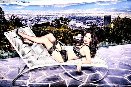 Frederick's of Hollywood Lingerie Campaign featuring Megan Fox