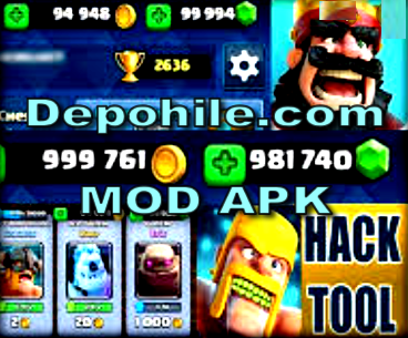 Clash Royale 3.1.0 Mod Recycle Kaynak ve Unlock Hileli Apk