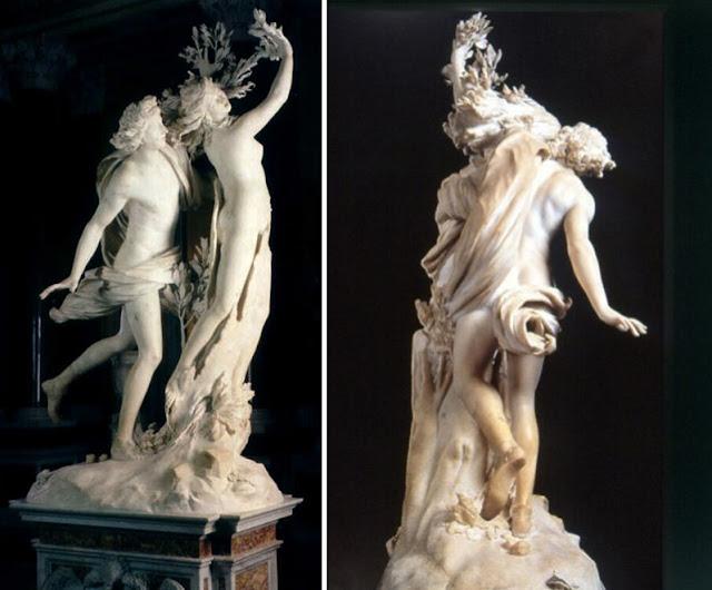 guia brasileira roma galeria borghese dafne - Galleria Borghese: Caravaggio e Bernini para fortes corações