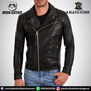 Jual Jaket Kulit Asli Garut Pria Domba Original Brida Leather B101 | WA 08813430588