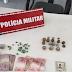 Ponto de venda de drogas é desarticulado em ação da Polícia Militar em Pombal