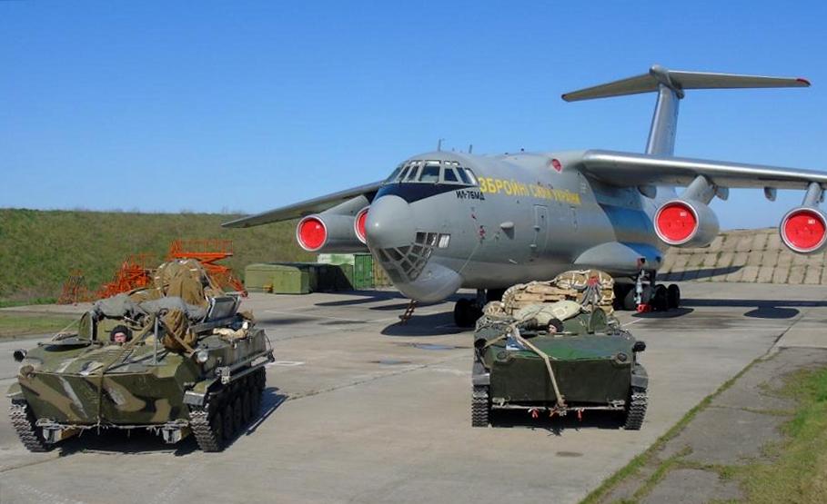 Удосконалення систем десантування військової техніки
