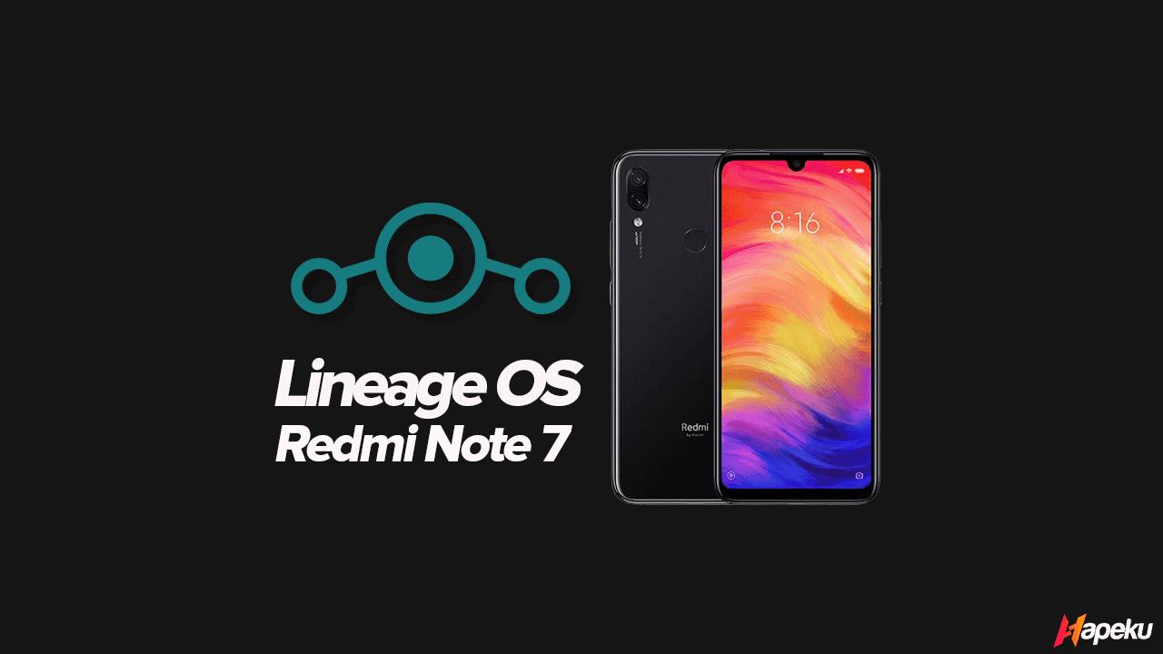 ROM Lineage OS Xiaomi Redmi Note 7 ( LAVENDER )