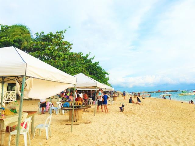 Kawit Beach Medellin. Picture taken at Paradizzo Beach Resort