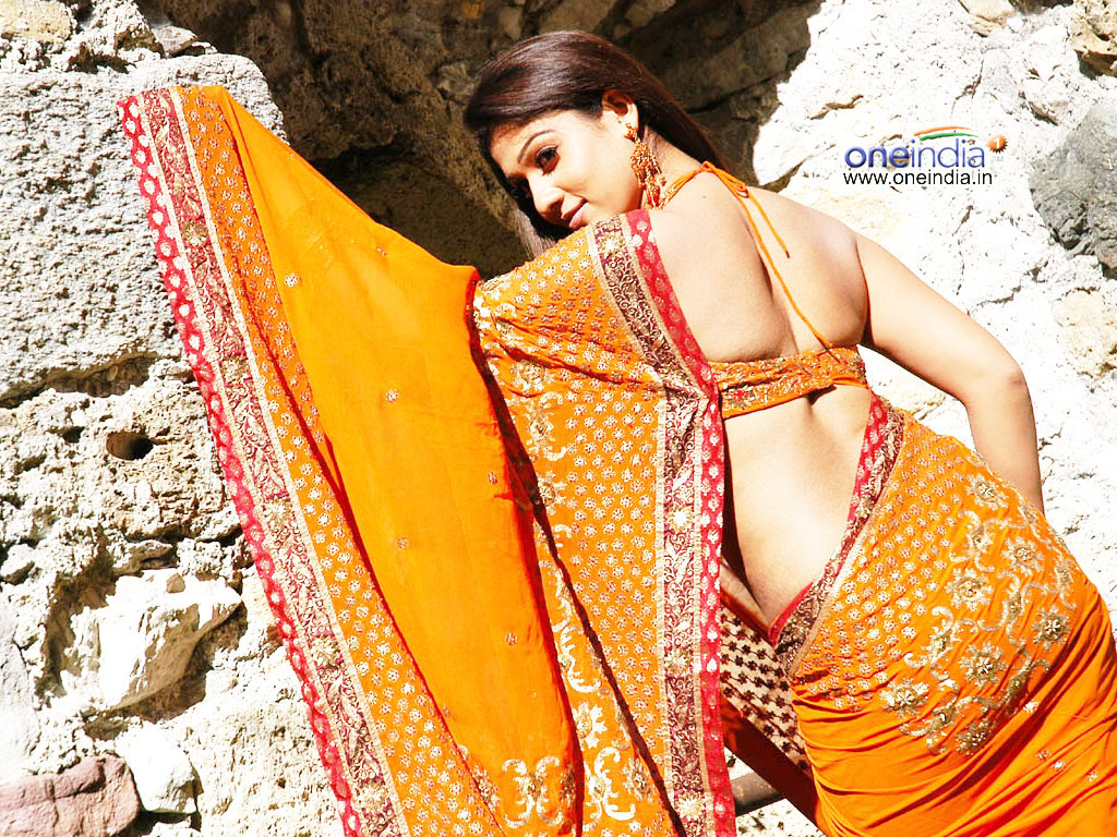 hot nayanthara back