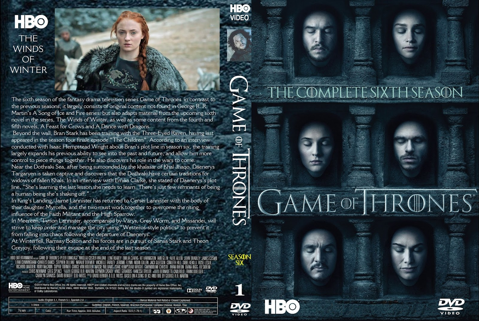 Download Game of Thrones S06E05 480p HDTV x264 Dual Áudio Game 2Bof 2BThrones 2B6 25C2 25AA 2BTemporada 2B  2BXANDAODOWNLOAD