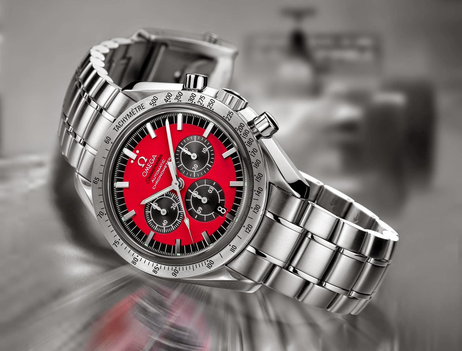 "Omega Speedmaster Michael Schumacher ""The Legend"" Collection"