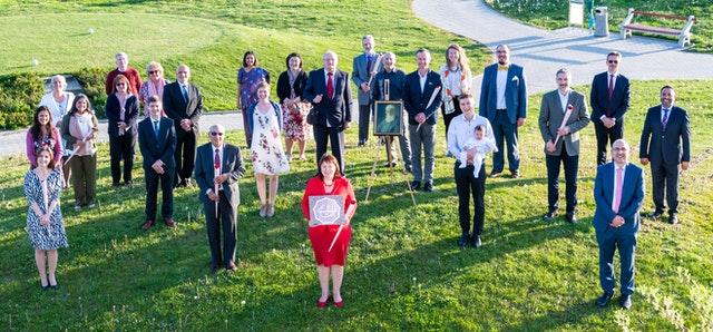 Делегаты первого Национального Съезда бахаи Хорватии, 2021 г.