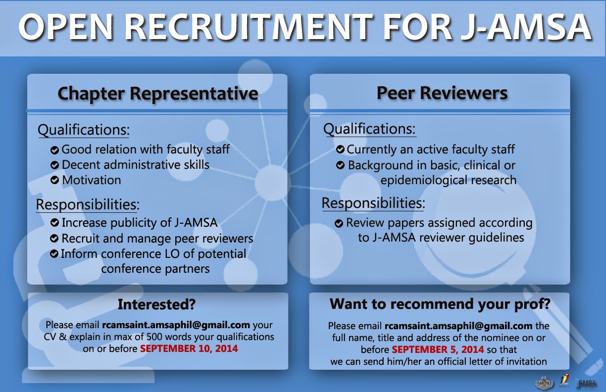 Asian Medical Students' Association Philippines August 2014