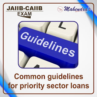 JAIIB-CAIIB Special 20- Common guidelines for priority sector loans