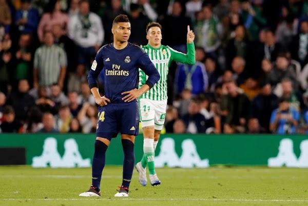 Madrid loses 2-1 at Betis as Barcelona stays top in Spain