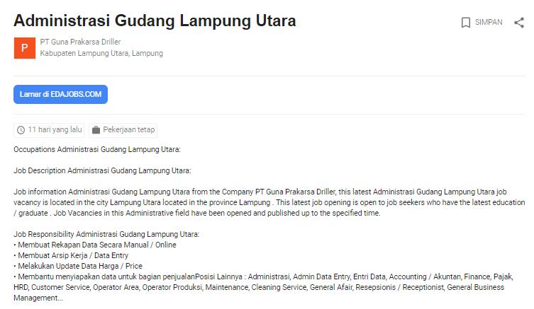 Bulan Ini Lowongan Kerja Lampung Utara Terbaru 2020 Job Fair Lowongan Kerja 2020 Lulusan Smk Lulusan Sma Smp