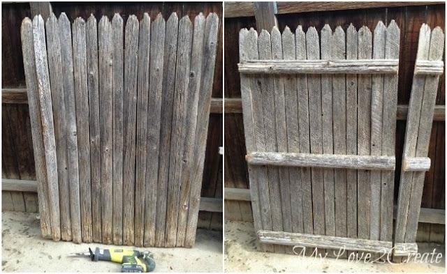 Ποιος ήξερε πως ένας παλιός φράχτης σαν αυτόν μπορεί να έχει πολλές χρήσεις;