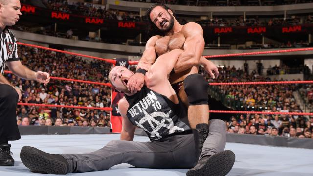 WWE Raw Results : McIntyre def. Dean Ambrose