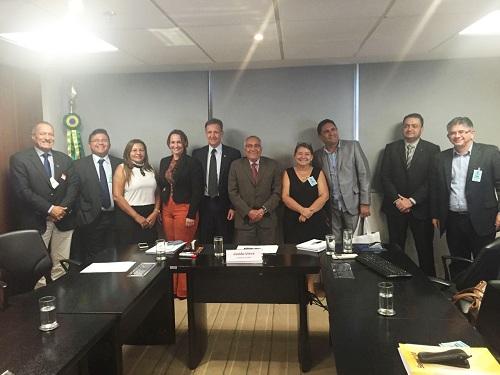 Prefeito Dr. Tinoco visita o FNDE em busca de recursos para educação em Aldeias Altas