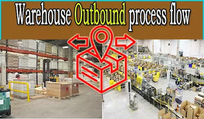 Warehouse outbound process flow