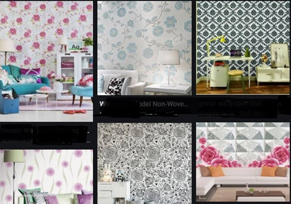Model Wallpaper Dinding Dan Harga Murah Terbaru 2020 Trend