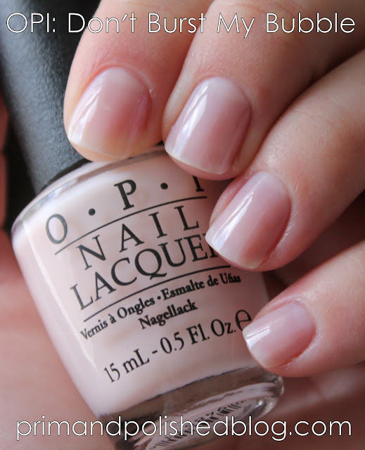 Opi Don T Burst My Bubble And Which Is Witch Pink