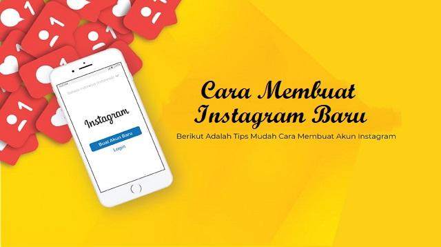 Cara Membuat Instagram Baru