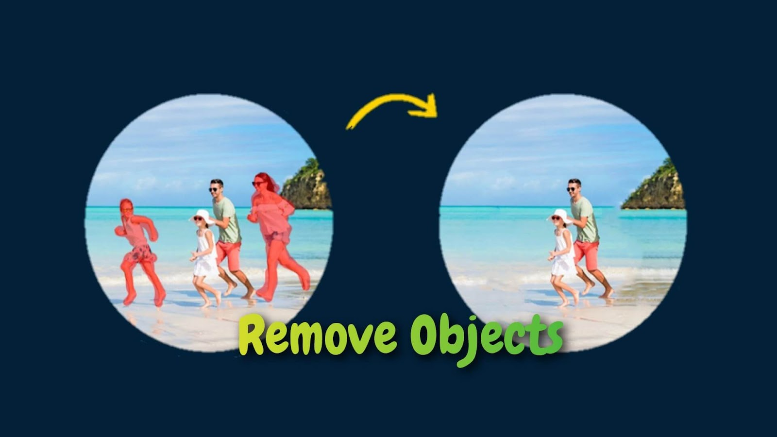 Remove objects from photos on iPhone and Android
