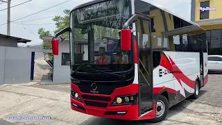 PT INKA Uji Prototype Bus Listrik E-INOBUSE