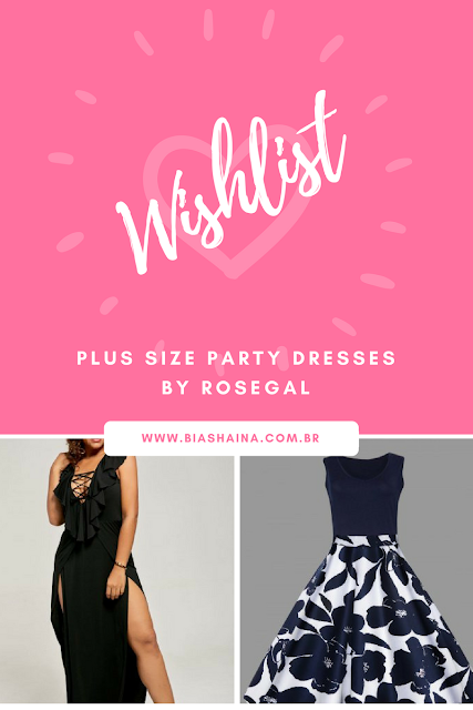 Wishlist Rosegal - Plus Size Party Dresses
