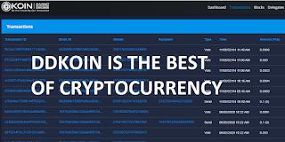 Bisnis Menguntungkan 2020 dengan Membeli Crypto DDKoin Minimal 1 Koin Dapat Gaji Bulanan